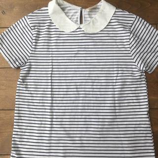 ザラ(ZARA)のボーダーTシャツ(Tシャツ/カットソー)