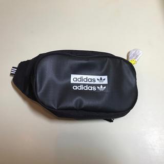 アディダス(adidas)のアディダス オリジナルス ウエストバッグ GVZ65 ブラック/FM1296(ボディバッグ/ウエストポーチ)