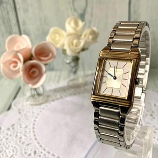 サンローラン(Saint Laurent)の【電池交換済】Yves Saint Laurent 腕時計 レディース スクエア(腕時計)