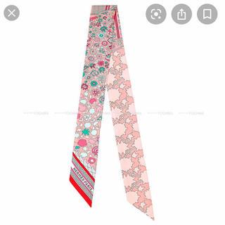 エルメス(Hermes)のエルメス ツイリー ピンク ペルシャ絨毯(バンダナ/スカーフ)