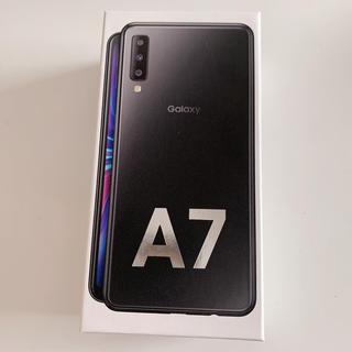 SAMSUNG - Galaxy A7 ブラック 64 GB SIMフリー