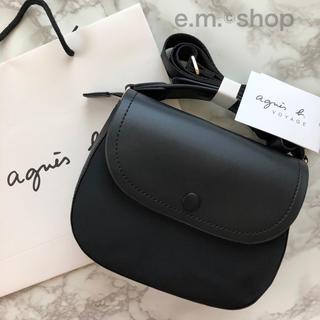 agnes b. - 【新品】agnes b. アニエスベー ショルダーバッグ ブラック