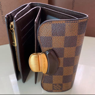 LOUIS VUITTON - 正規品ルイヴィトンダミエ折財布