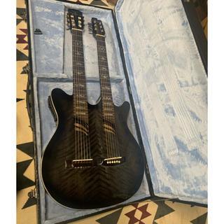 【超レア】エレアコ YAMATO ダブルネックギター(アコースティックギター)