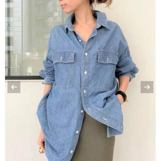 L'Appartement DEUXIEME CLASSE - 新品未使用 REMI RELIEF/レミレリーフ Chambray シャツ