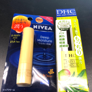 ディーエイチシー(DHC)の[新品未開封・送料込]DHC オリーブ バージンオイル SS(7ml)+リップ付(フェイスオイル/バーム)