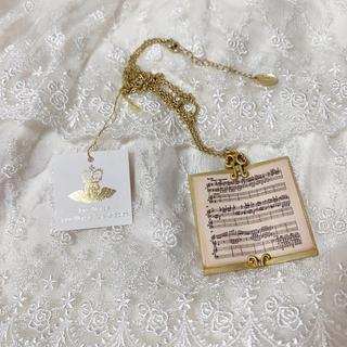 JaneMarple - ジェーンマープル musical scoreのペンダント ネックレス