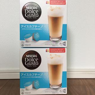 ネスレ(Nestle)のネスカフェドルチェグスト アイスカプチーノ(コーヒー)