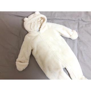 babyGAP - baby GAP クマさんカバーオール ロンパース