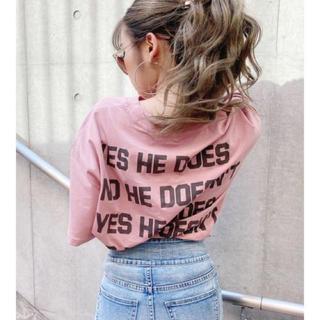 ジェイダ(GYDA)のGYDA 新品 quote logo Tシャツ (Tシャツ/カットソー(半袖/袖なし))