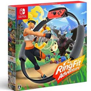 ニンテンドースイッチ(Nintendo Switch)のリングフィットアドベンチャー(家庭用ゲーム機本体)