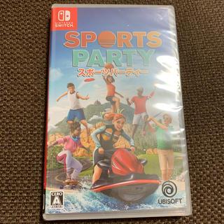 ニンテンドースイッチ(Nintendo Switch)のスポーツパーティー ニンテンドースイッチ(家庭用ゲームソフト)