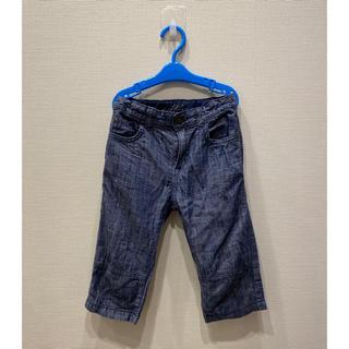 エイチアンドエム(H&M)のH&Mコットングラムディガーパンツ膝丈ズボン2枚セット(パンツ/スパッツ)