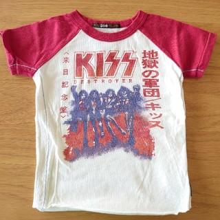 ヒステリックグラマー(HYSTERIC GLAMOUR)の KISS☆ キッズTシャツ(Tシャツ/カットソー)