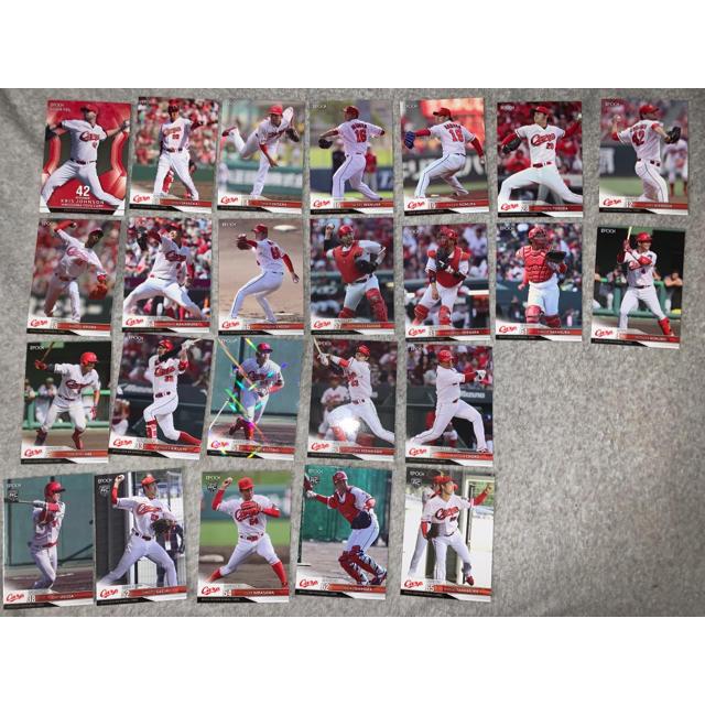 EPOCH(エポック)の広島東洋カープ EPOCH 2020 NPB プロ野球カード 24枚 エンタメ/ホビーのタレントグッズ(スポーツ選手)の商品写真
