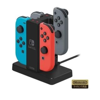 ニンテンドースイッチ(Nintendo Switch)の美品 ニンテンドースイッチ ジョイコン 充電スタンド (家庭用ゲーム機本体)