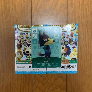 ニンテンドースイッチ(Nintendo Switch)のあつまれどうぶつの森 amiboカード ロボ 255(カード)