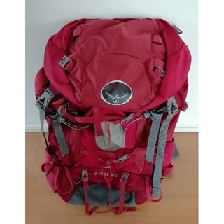 オスプレイ(Osprey)のOSPREY ARIEL55 サイズWS レッド(登山用品)