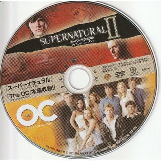 スーパーナチュラルⅡ第1話&The OC1第1話 [DVD-ディスクのみ](TVドラマ)