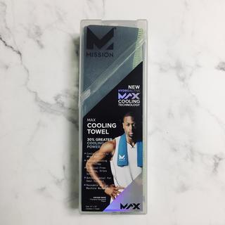 【新品】MISSION Max Cooling Towel 黒(ランニング/ジョギング)