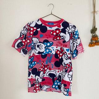 ディズニー(Disney)のDisney:ミニーTシャツ(Tシャツ(半袖/袖なし))