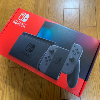 任天堂 - Nintendo Switch 本体 グレー 新モデル