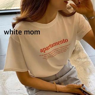 新品 mom blackbean letter t レターt 韓国子供服(Tシャツ(半袖/袖なし))