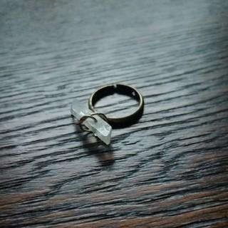 ロンハーマン(Ron Herman)のロンハーマン購入!未使用 リング 指輪 クリスタル 天然石 パワーストーン(リング(指輪))