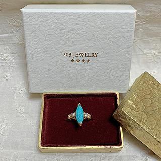 TODAYFUL - 203ジュエリー ターコイズ&ダイヤモンドリング