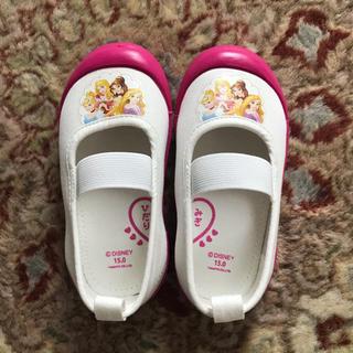 ディズニー(Disney)のディズニープリンセス上履き 新品未使用 15cm(スクールシューズ/上履き)