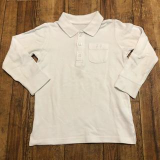 ベルメゾン(ベルメゾン)の100サイズ ポロシャツ 白 長袖 GITA ベルメゾン(ブラウス)