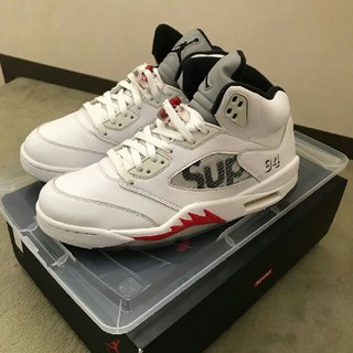 NIKE - NIKE AIR JORDAN 5 RETRO SUPREME 28cm