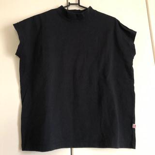 コーエン(coen)のコーエン USAコットンハイネックTシャツ ブラック(Tシャツ(半袖/袖なし))