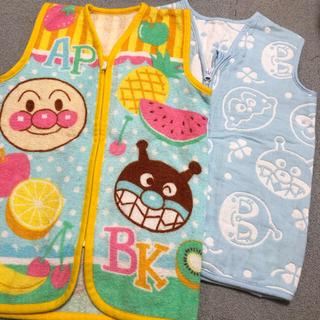 アンパンマン(アンパンマン)の美品♡アンパンマン スリーパーベスト 2枚セット(パジャマ)