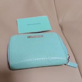 ティファニー(Tiffany & Co.)のTIFFANY ブルー コインケース(コインケース)