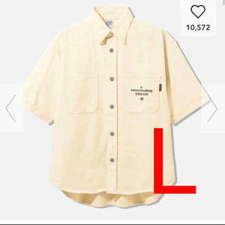 GU - GU デニムワークシャツ(5分袖)STUDIO SEVEN