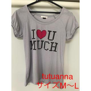 チュチュアンナ(tutuanna)のtutuanna Tシャツ サイズM〜L(Tシャツ(半袖/袖なし))