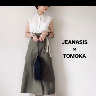 JEANASIS - 【WEARISTA TOMOKAコラボ】Wウエストベルトスカート