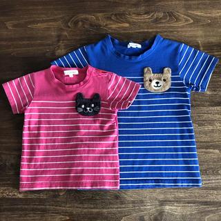 3can4on - サンカンシオン 110cm 80cm Tシャツ 2枚セット