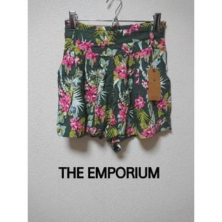 ジエンポリアム(THE EMPORIUM)のタグ付き新品! 花柄プリントキュロットスカート ショートパンツ(キュロット)