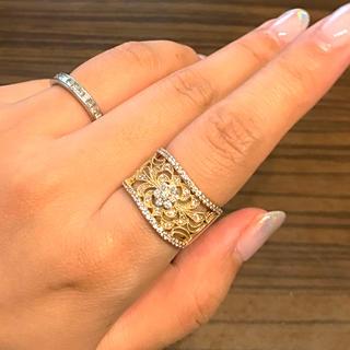 ダイヤモンド×K18デザインリング