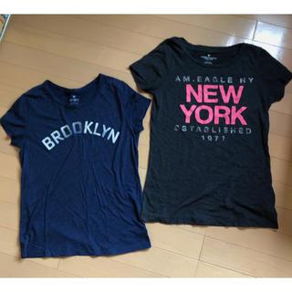 アメリカンイーグル(American Eagle)のAmerican Eagle Tシャツ アメリカンイーグル トップス 2枚(Tシャツ(半袖/袖なし))