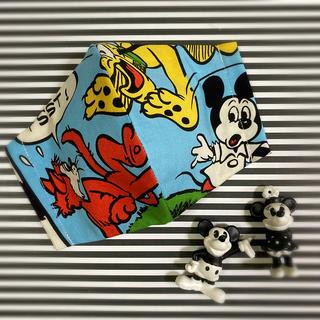 ディズニー(Disney)のインナーマスク・ミッキー柄・プルート柄・ディズニー柄(その他)