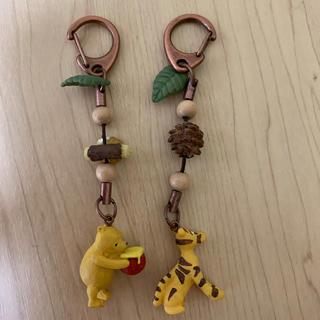 ディズニー(Disney)のクラシックプー& ティガーキーホルダー(キャラクターグッズ)