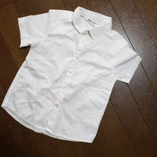 エイチアンドエム(H&M)のH&M 白シャツ 100(ブラウス)