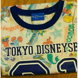 ディズニー(Disney)の美品✨ディズニーシーTシャッ L(Tシャツ(半袖/袖なし))