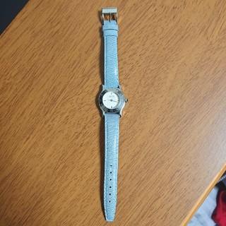 Gucci - ☆GUCCI☆  腕時計  6500L  ブルー   ベルト