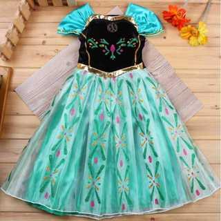 【130サイズ】ディズニープリンセス アナドレス  コスプレ キッズドレス (ドレス/フォーマル)