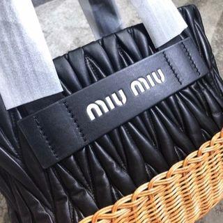 miumiu - miu miu カゴバッグ