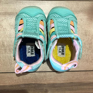 IFME サンダル 11.5 春夏 キッズ ベビー 靴 保育園(サンダル)